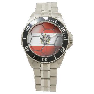 Austria Soccer Ball Watch