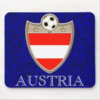 Austria Soccer Mouse Pad