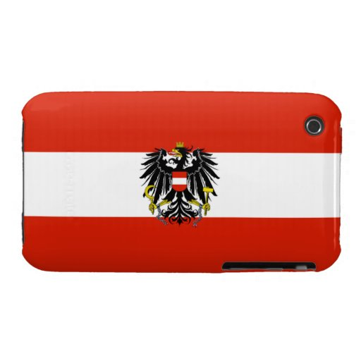 Austria State Case-Mate Barely There™ iPhone 3G/3G iPhone 3 Covers