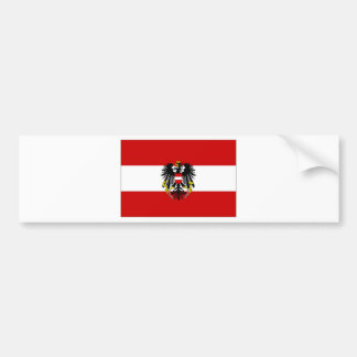 Austria State Flag Bumper Sticker