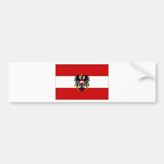 Austria State Flag Bumper Sticker