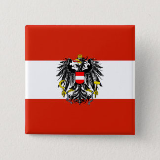 Austria State Flag Button
