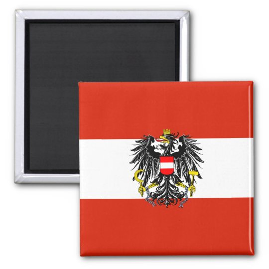 Austria State Flag Magnet