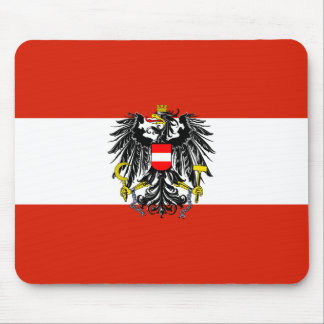 Austria State Flag Mousepad