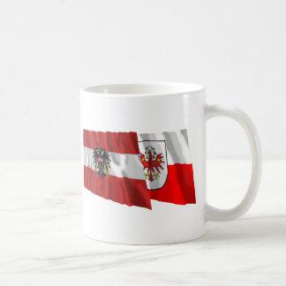 Austria & Tirol Waving Flags Coffee Mug