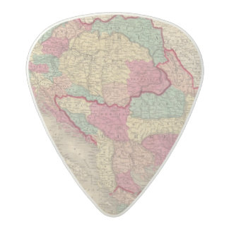 Austria Turkey In Europe and Greece Acetal Guitar Pick