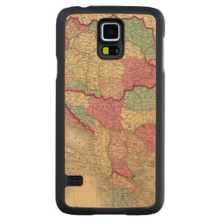 Austria Turkey In Europe and Greece Carved Maple Galaxy S5 Case