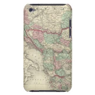 Austria, Turkey in Europe, and Greece iPod Case-Mate Case