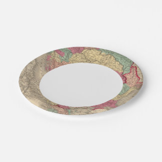 Austria Turkey In Europe and Greece Paper Plate