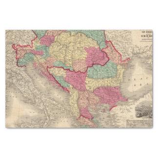Austria Turkey In Europe and Greece Tissue Paper