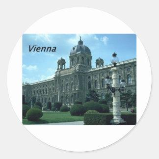 Austria--Vienna--History--Museum--.[kan.k]-JPG Round Sticker