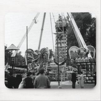 Austria Vienna Prater amusement park 1970 Mouse Pad