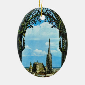 Austria, Vienna, St Stephen's Cathedral Christmas Ornament