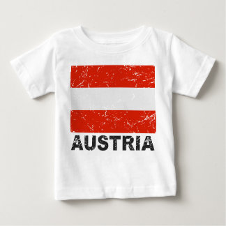Austria Vintage Flag Baby T-Shirt