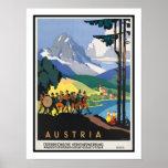 Austria Vintage Travel Print