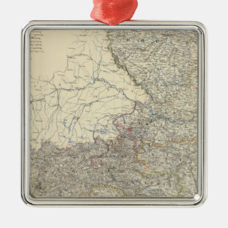 Austria W Christmas Ornament