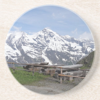 Austrian Alps custom coaster