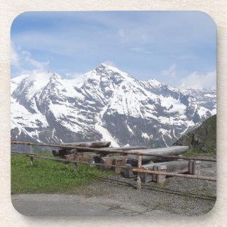 Austrian Alps custom coasters
