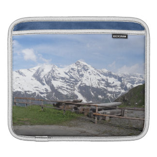 Austrian Alps custom iPad sleeves