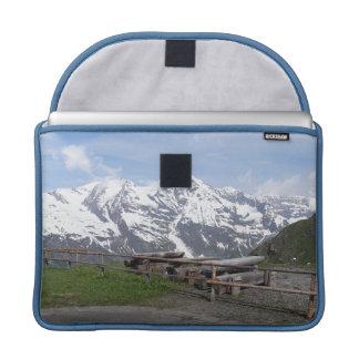 Austrian Alps custom MacBook sleeves