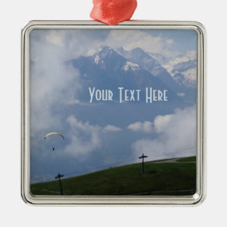 Austrian Alps custom ornament