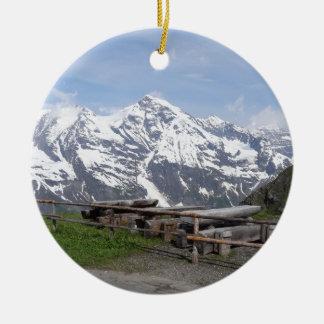 Austrian Alps custom ornaments