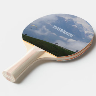 Austrian Alps custom ping pong paddle