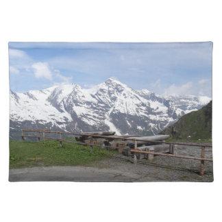 Austrian Alps custom placemats
