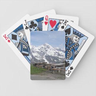 Austrian Alps custom playing cards