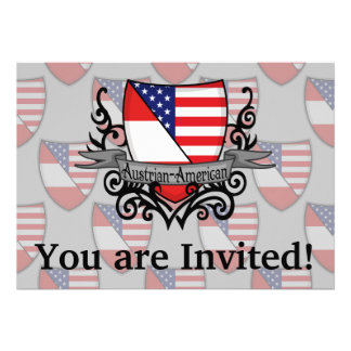 Austrian-American Shield Flag Cards
