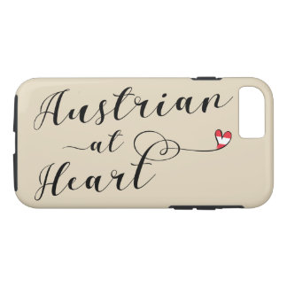 Austrian At Heart Mobile Phone Case