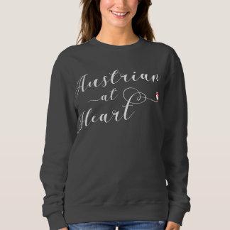 Austrian At Heart Sweatshirt, Austria Sweatshirt