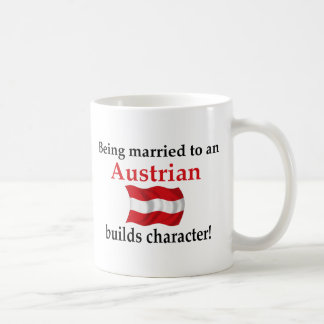 Austrian Builds Character Classic White Coffee Mug