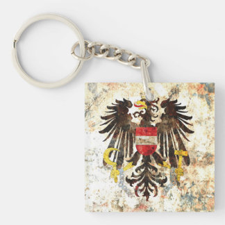 Austrian Crest Key Ring