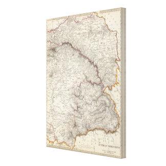 Austrian Dominions II Canvas Print