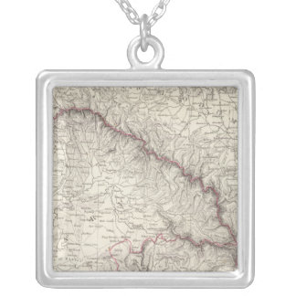 Austrian Dominions II Silver Plated Necklace
