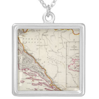 Austrian Dominions III Silver Plated Necklace