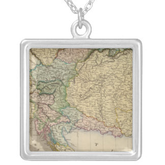 Austrian dominions silver plated necklace