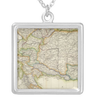 Austrian Empire 2 Silver Plated Necklace