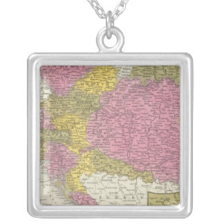 Austrian Empire 4 Silver Plated Necklace
