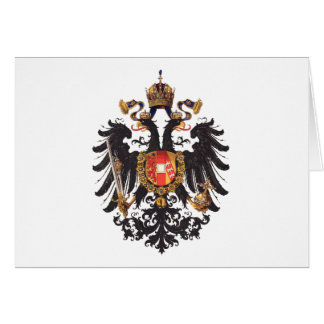 Austrian Empire Greeting Card