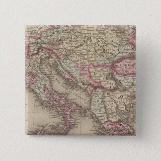 Austrian Empire, Italy, Turkey in Europe, Greece 2 15 Cm Square Badge
