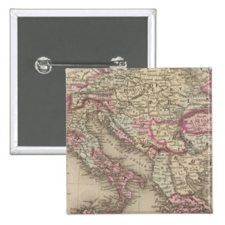 Austrian Empire, Italy, Turkey in Europe, Greece 2 15 Cm Square Badge