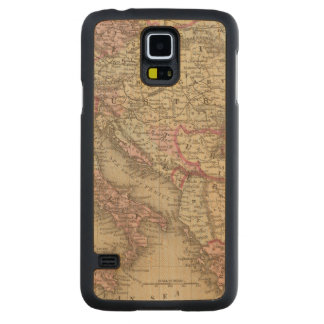 Austrian Empire, Italy, Turkey in Europe, Greece 2 Carved Maple Galaxy S5 Case