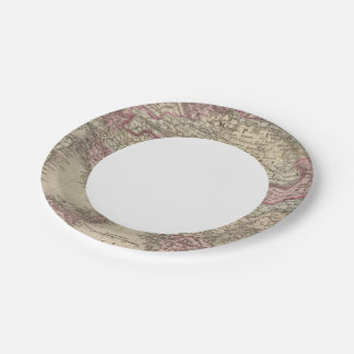 Austrian Empire, Italy, Turkey in Europe, Greece 2 Paper Plate
