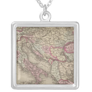 Austrian Empire, Italy, Turkey in Europe, Greece 2 Silver Plated Necklace