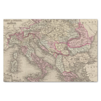 Austrian Empire, Italy, Turkey in Europe, Greece 2 Tissue Paper