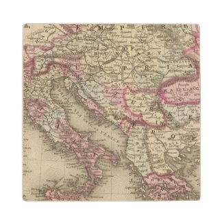 Austrian Empire, Italy, Turkey in Europe, Greece 2 Wood Coaster