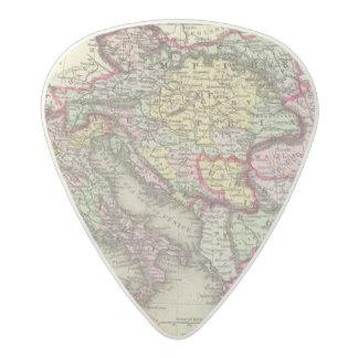 Austrian Empire, Italy, Turkey in Europe, Greece Acetal Guitar Pick
