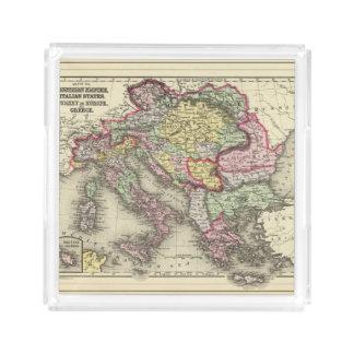Austrian Empire, Italy, Turkey in Europe, Greece Acrylic Tray